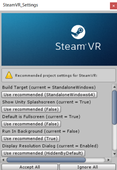 steamvrsetting