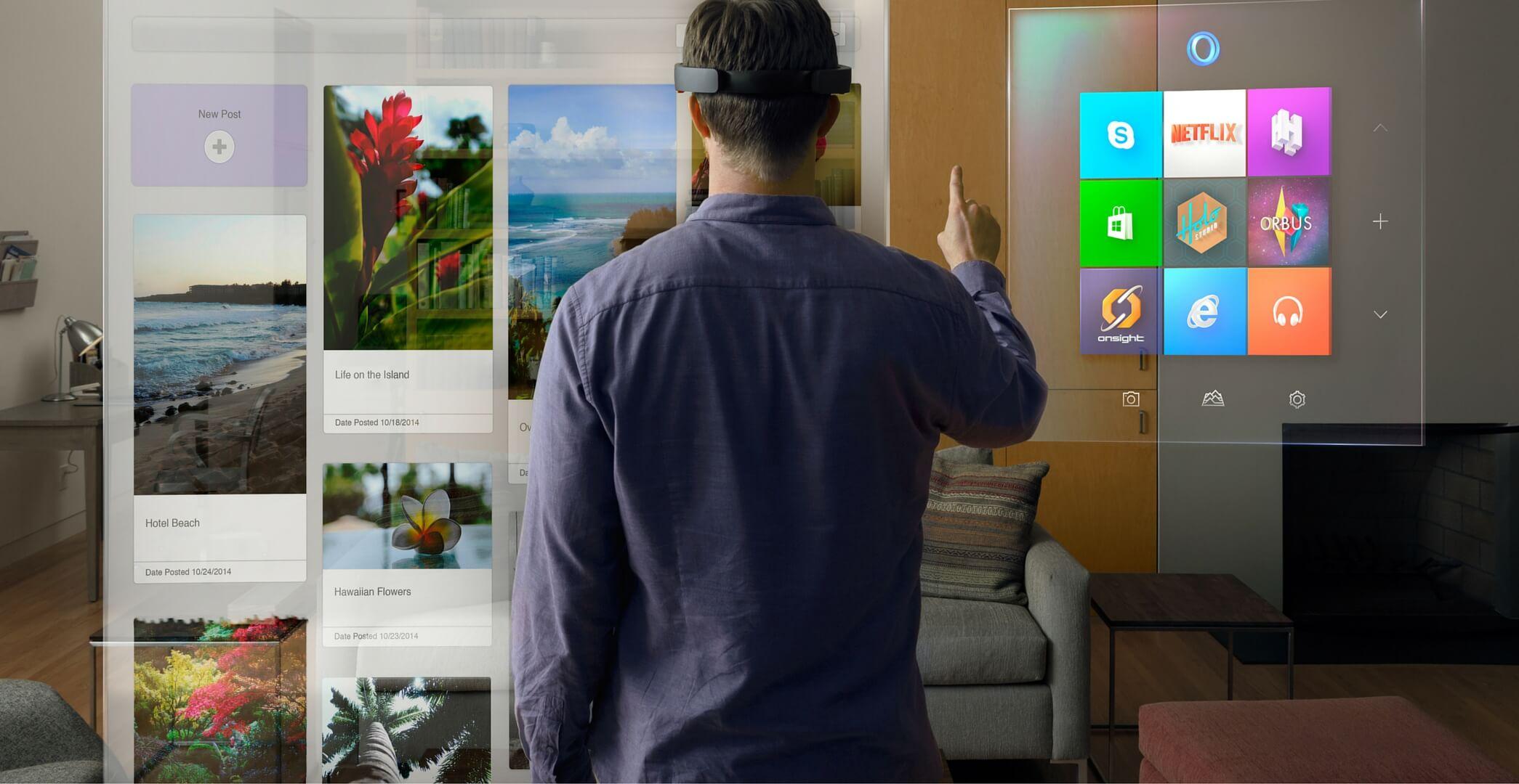 HoloLens(Mixed Reality)が12月2日からプレオーダー開始!