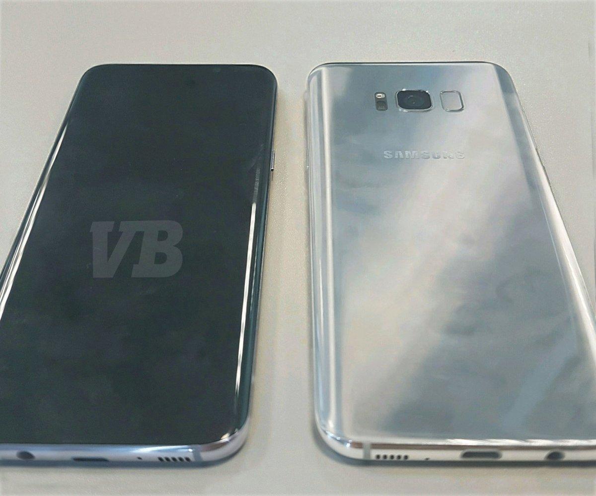 Galaxy S8の実機画像がリーク! 発表はやはり3月29日?